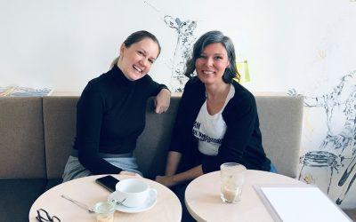 Von Glückskeks-Sprüchen, gescheiten Tools und wie große Pläne Wirklichkeit werden: Tanja Reiter im AndersMacherTalk